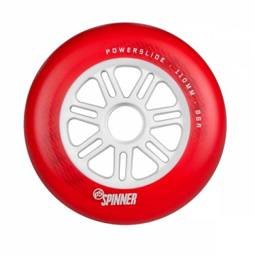 Koła Powerslide Spinner matte red 110 mm 88 a